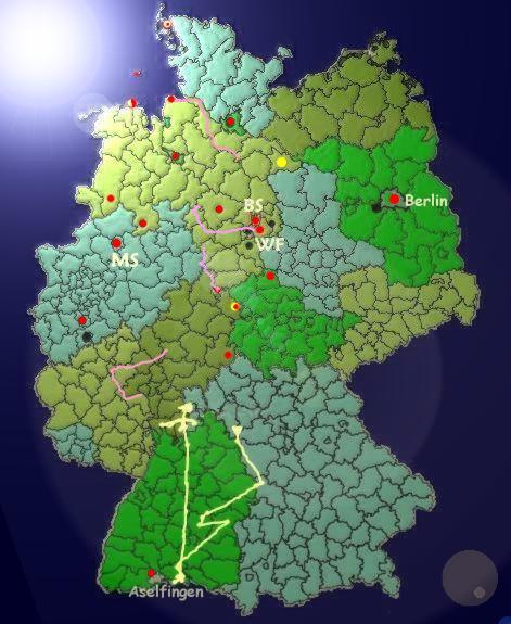 Karte D, Original: unwetterzentrale